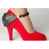 Автопятка из натуральной кожи для женской обуви на каблуке