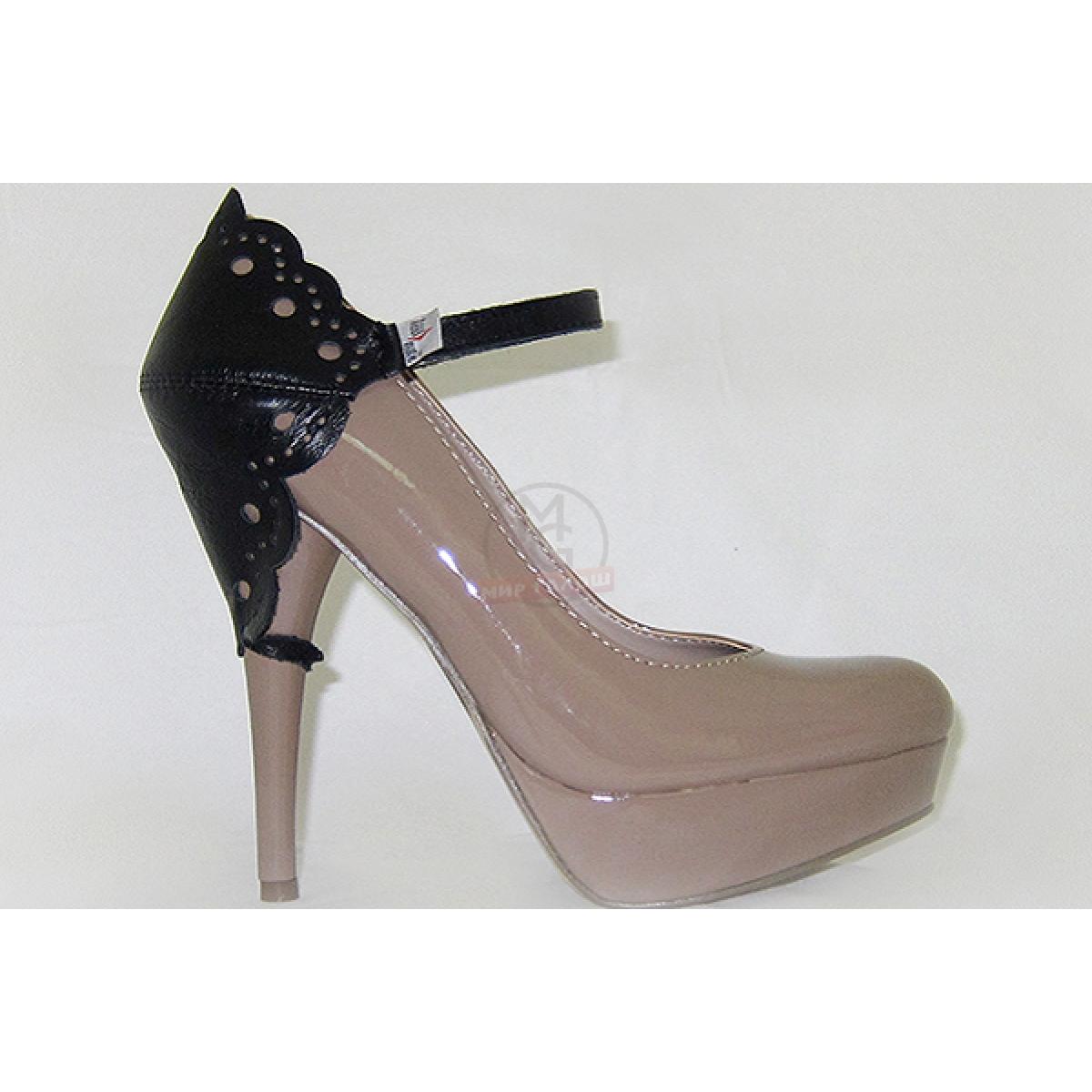 Автопятка узорная для женской обуви на каблуке