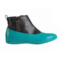 Галоши для обуви без каблука, зеленая мята