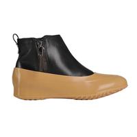 Галоши для обуви без каблука, бежевые