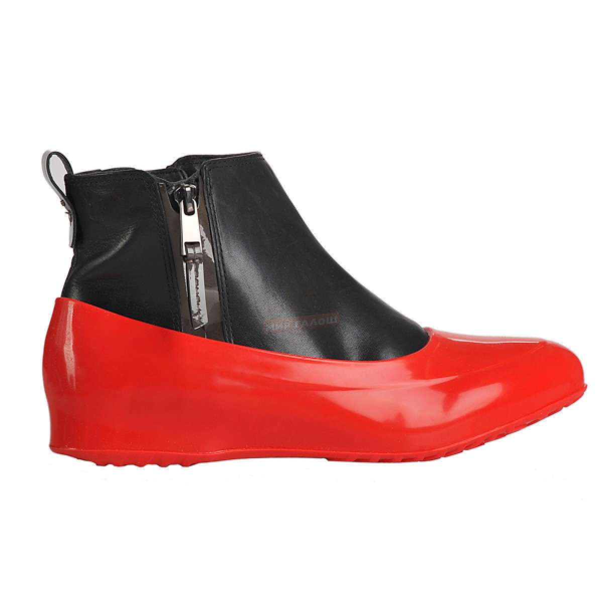 Женские галоши для обуви без каблука, алые паруса
